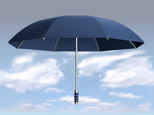 Umbrella in Clouds