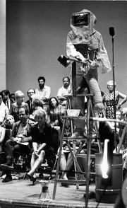 Robert Delford Brown in Stockhausen's Originale, 2nd Avant Garde Festival, New York, 1964